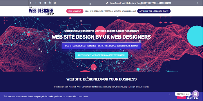 uk web designer